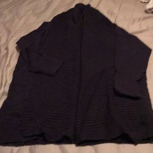 Jcrew Navy shawl cardigan
